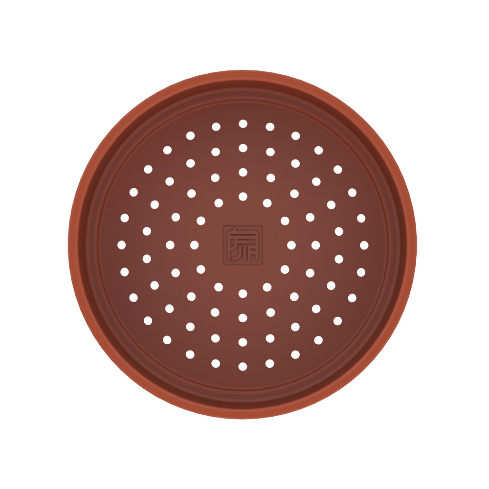 JIA品家 饗食版 赤陶蒸籠盤24cm