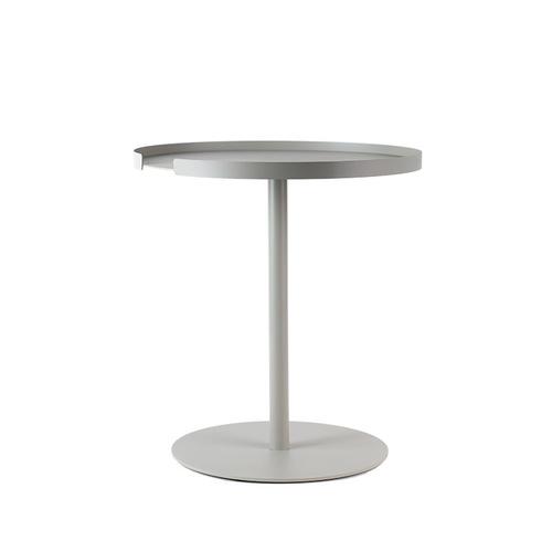 Design Bite 圓形邊桌-象牙白