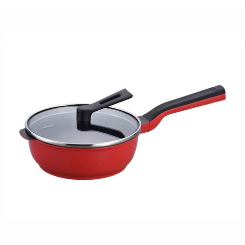 Remy pan plus|mini多功能萬用不沾鍋20cm(附蓋)-紅