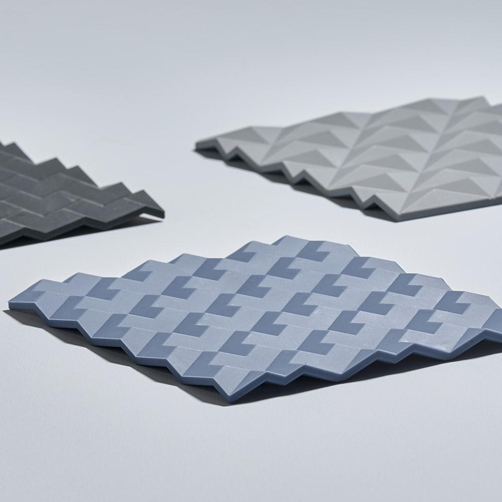 Zone Denmark|3D折紙FOLD隔熱墊(牛仔藍)