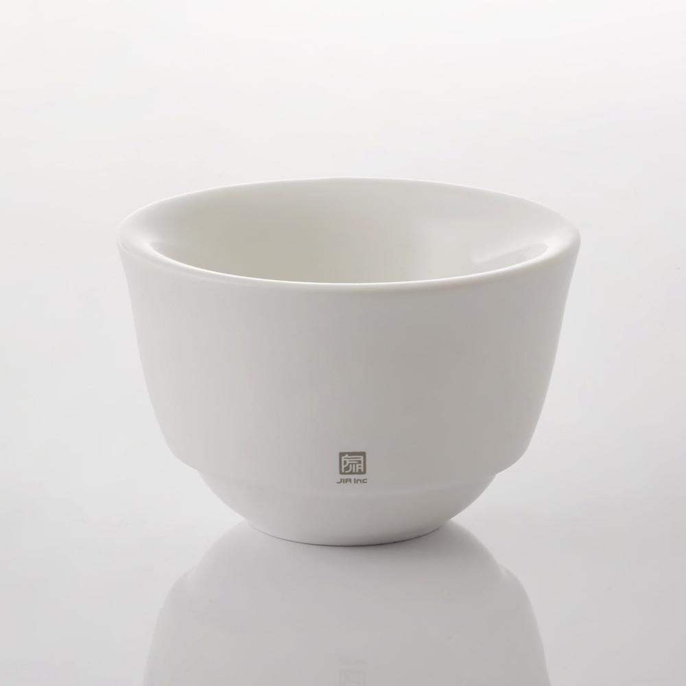 JIA Inc.|手沖咖啡 雙層陶瓷濾杯(V型濾杯)─白色