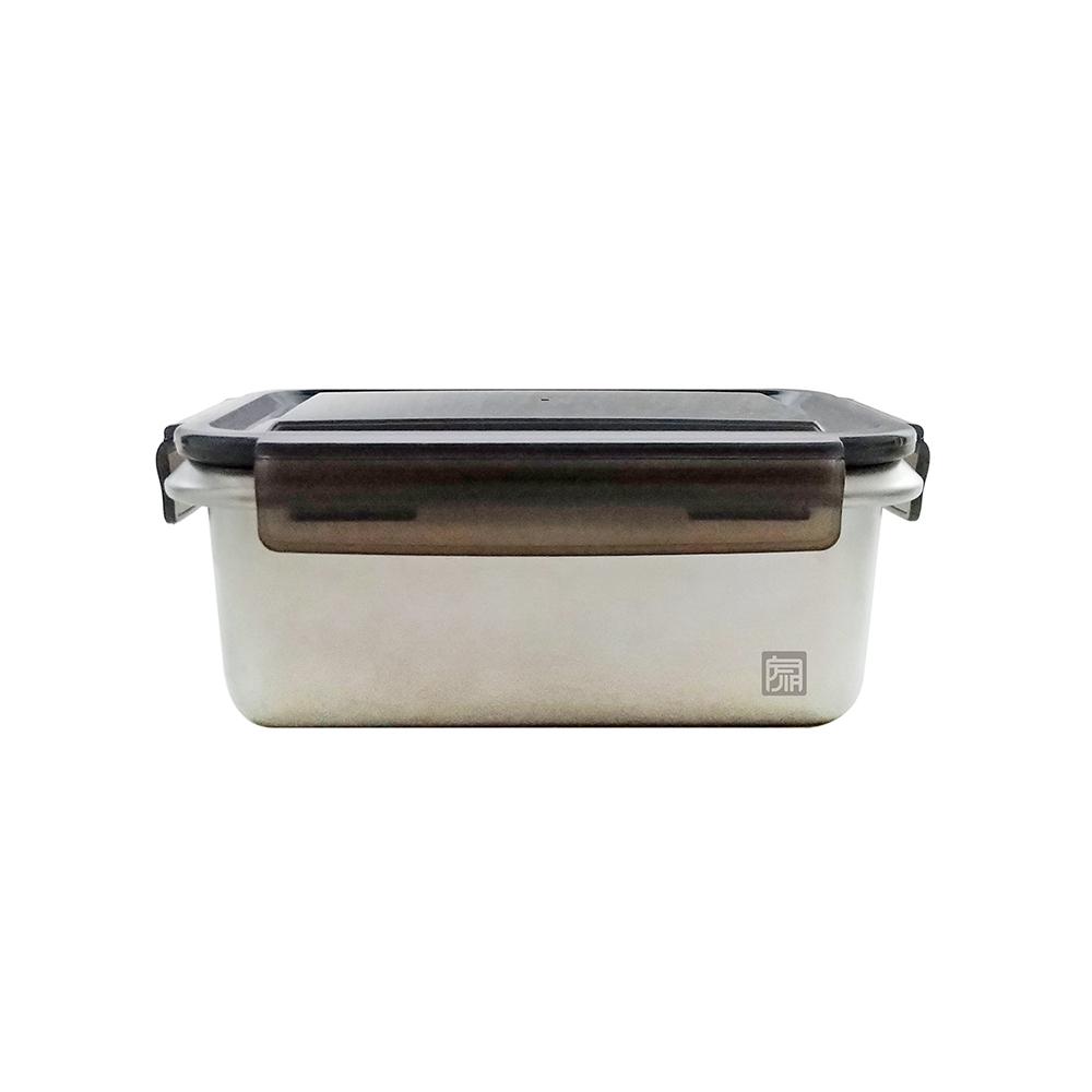 JIA品家|抗菌不鏽鋼保鮮盒─1L (中)