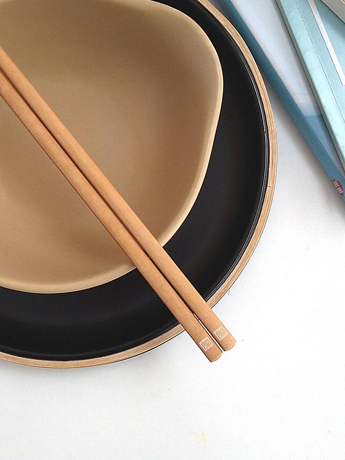 JIA 家 抗菌松木纖維筷(兩雙入)