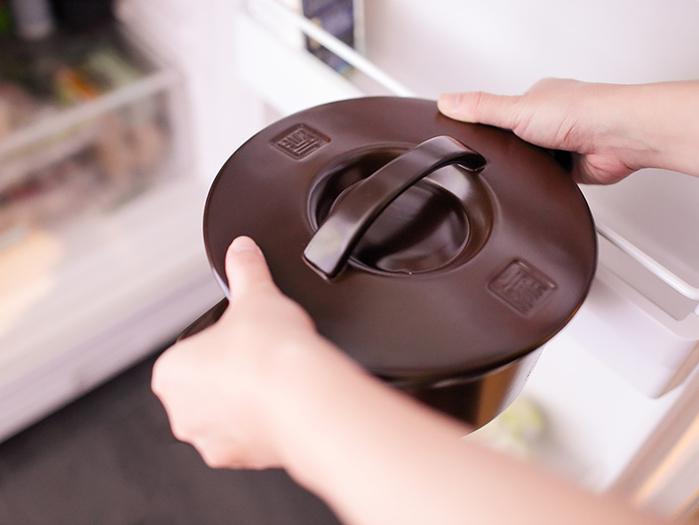 JIA 家|晶釉瓷 雙耳湯鍋24cm ─ 咖啡色