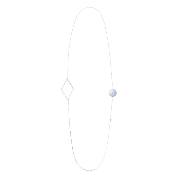 (複製)OLIVIA YAO JEWELLERY|MARCO NECKLACE 金色藍磷灰石項鍊