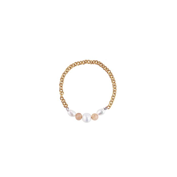 (複製)OLIVIA YAO JEWELLERY|PEARL BELL 14K合金珍珠手鍊