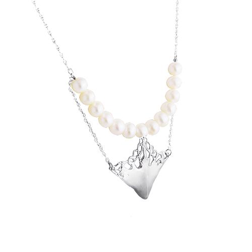 OLIVIA YAO JEWELLERY|ATHER PEARL 淡水珍珠純銀項鍊