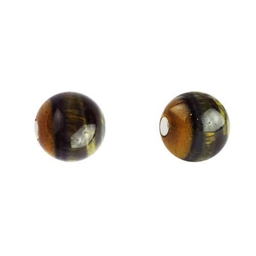 OLIVIA YAO JEWELLERY|Tigerite 虎眼石磁鐵長鍊