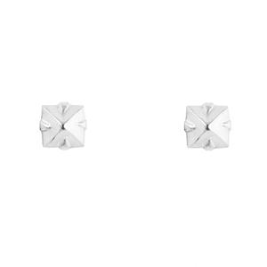 OLIVIA YAO JEWELLERY|SQUARE DIAMANTE 方形爪鑲耳環