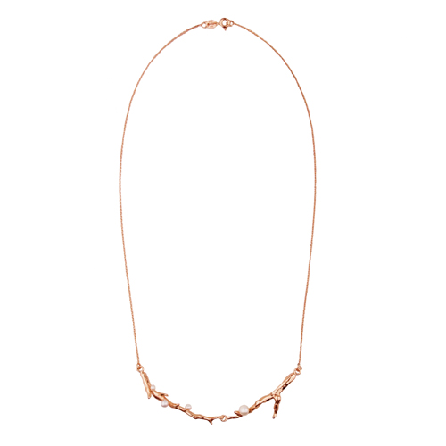 OLIVIA YAO JEWELLERY|ROUGE LAURIER 14K玫瑰合金桂冠項鍊