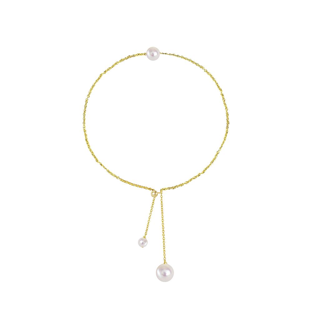 OLIVIA YAO JEWELLERY|PEARL BELL 14K合金珍珠手鍊