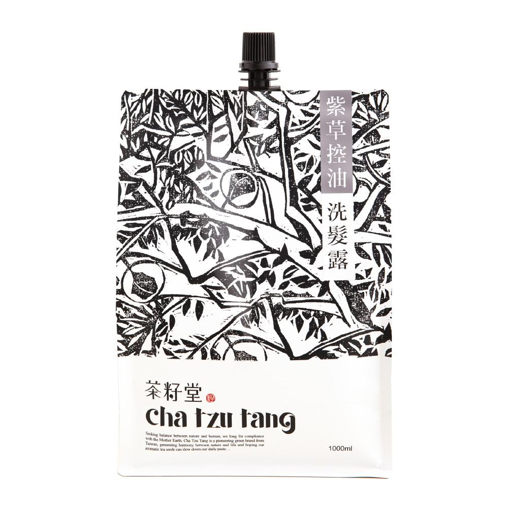 茶籽堂|紫草控油洗髮露補充包