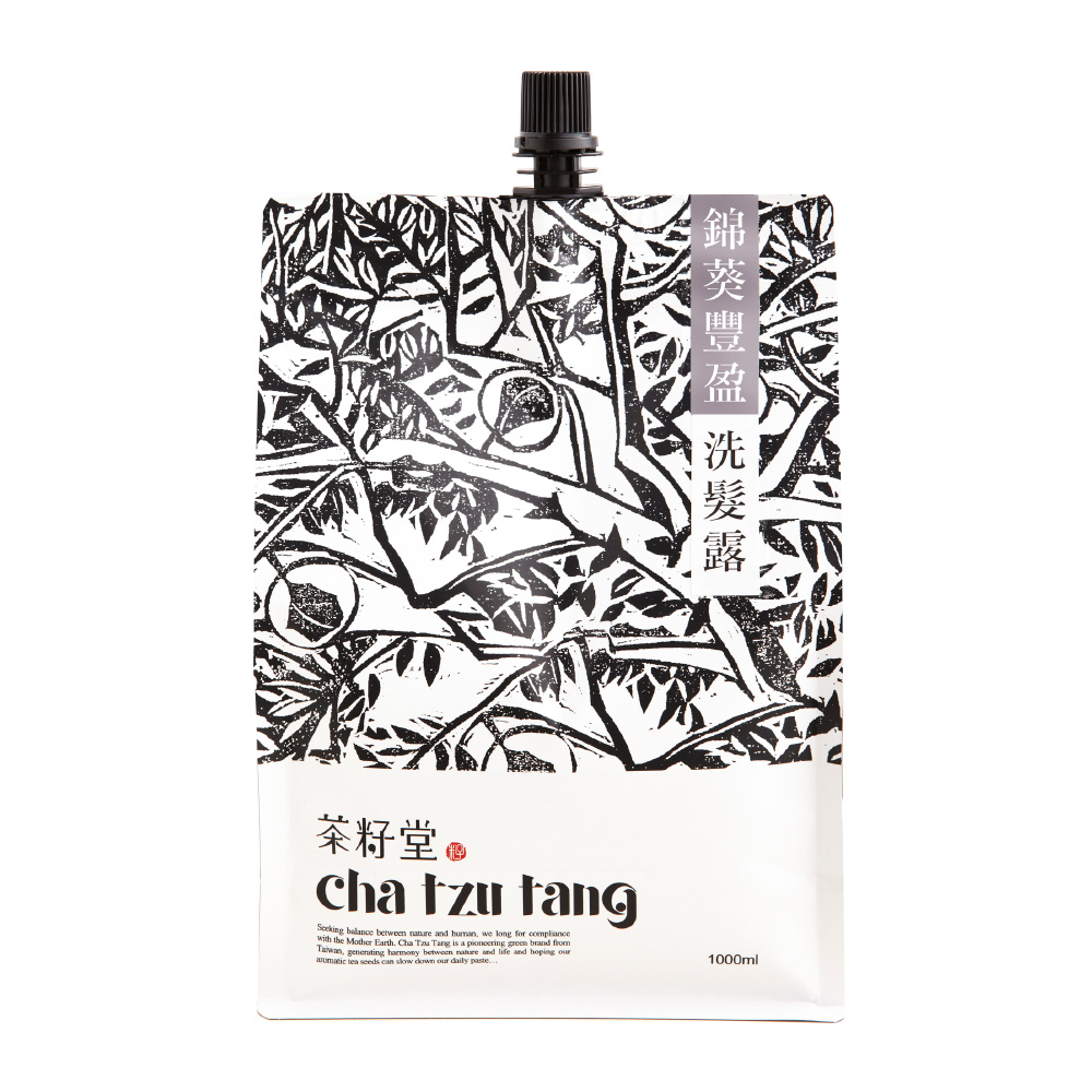 茶籽堂|錦葵豐盈洗髮露補充包