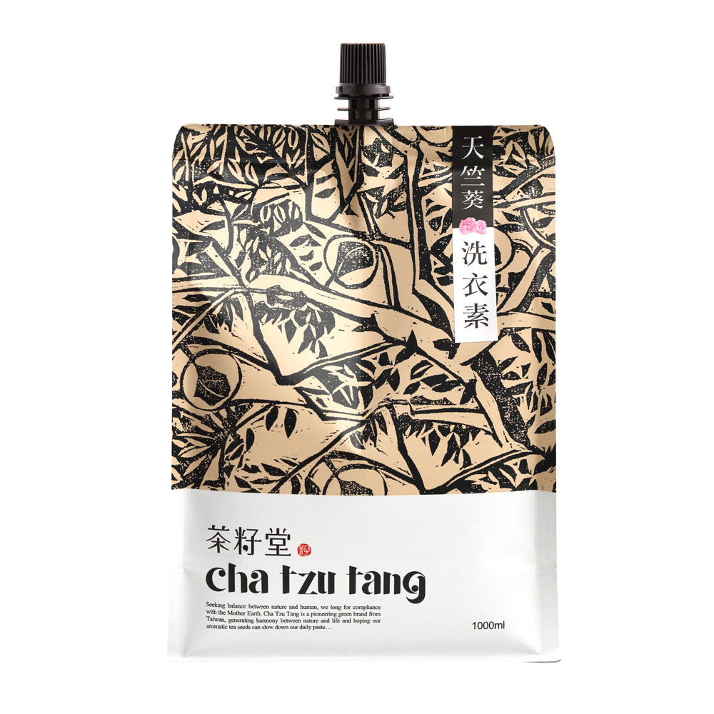 茶籽堂|新配方-天竺葵洗衣素補充包1L*2入