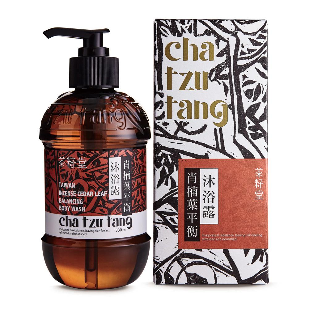 茶籽堂|肖楠葉-抗屑油脂平衡髮身清潔雙入-禮盒