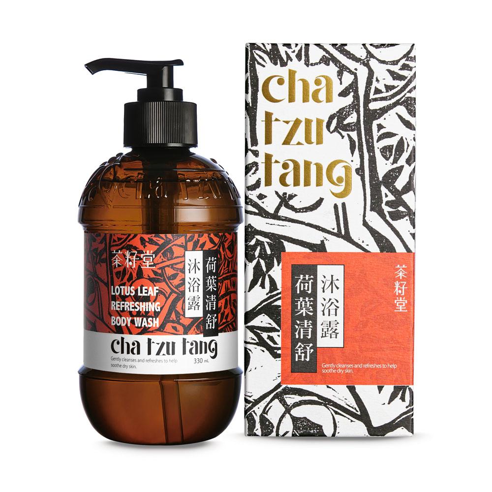 茶籽堂|錦葵&荷葉-豐盈柔嫩髮身呵護版畫雙入-禮盒