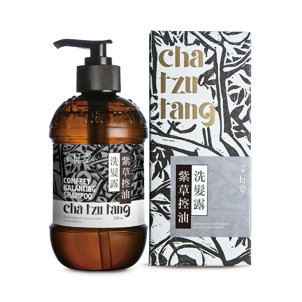 茶籽堂|紫草&金盞花-控油柔順頭髮護理雙入組