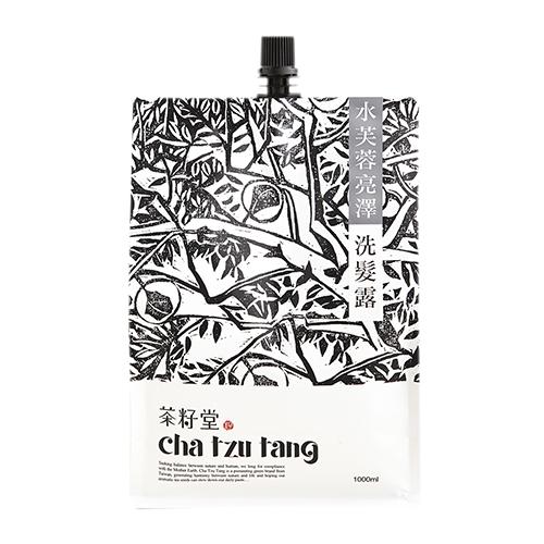 茶籽堂|水芙蓉亮澤洗髮露補充包 1L