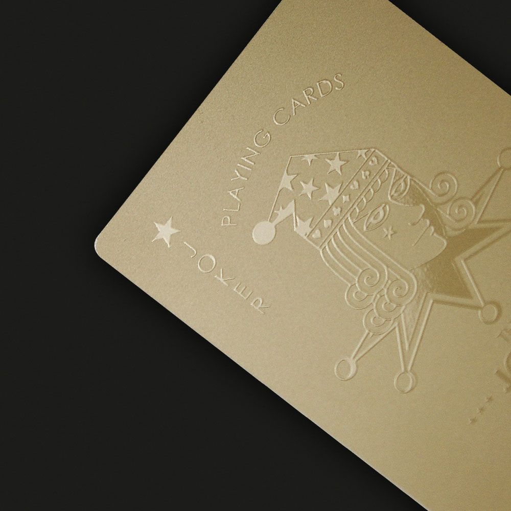 Smile|Gold Card 撲克牌