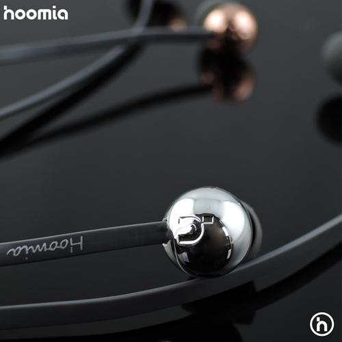 hoomia|C8S金屬魔球入耳式立體聲耳機 (紳士灰)