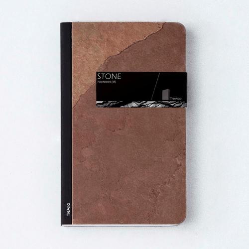 TA+d|Stone Notebook-原石筆記本-小(紅)