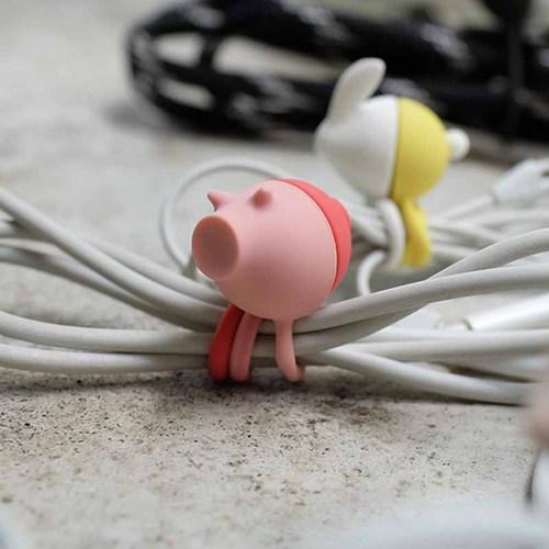 LT|ZOO 動物收線球 - 粉紅豬/兔
