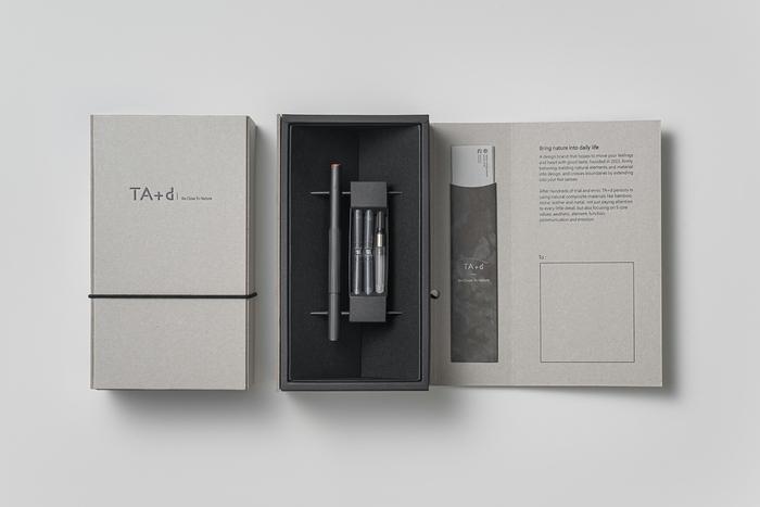 TA+d Fiber燻竹鋼筆/墨水禮盒