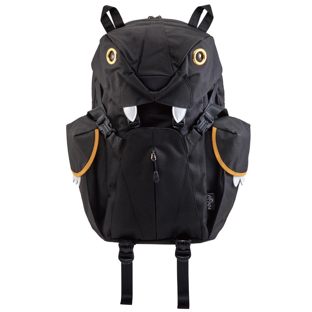 MornCreations|正版可愛老虎電腦背包-黑色
