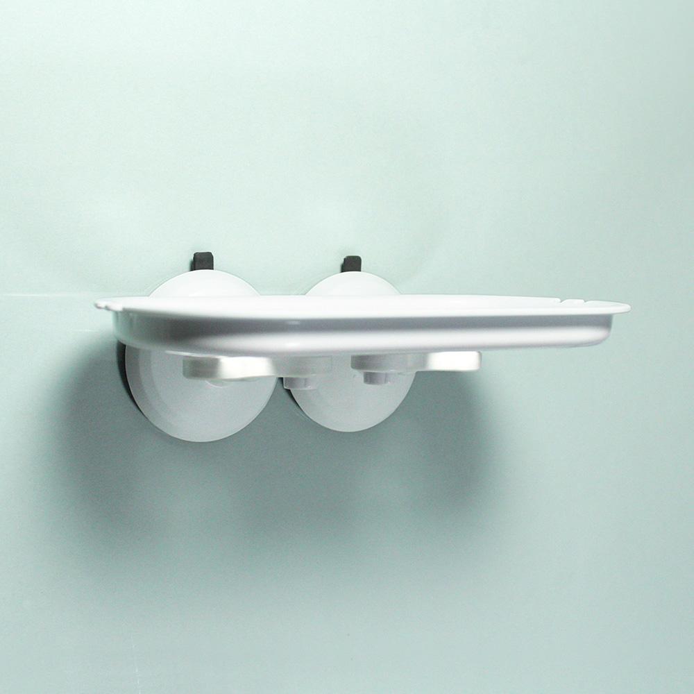 dipper 強力吸盤壁掛(大)-置物架套組