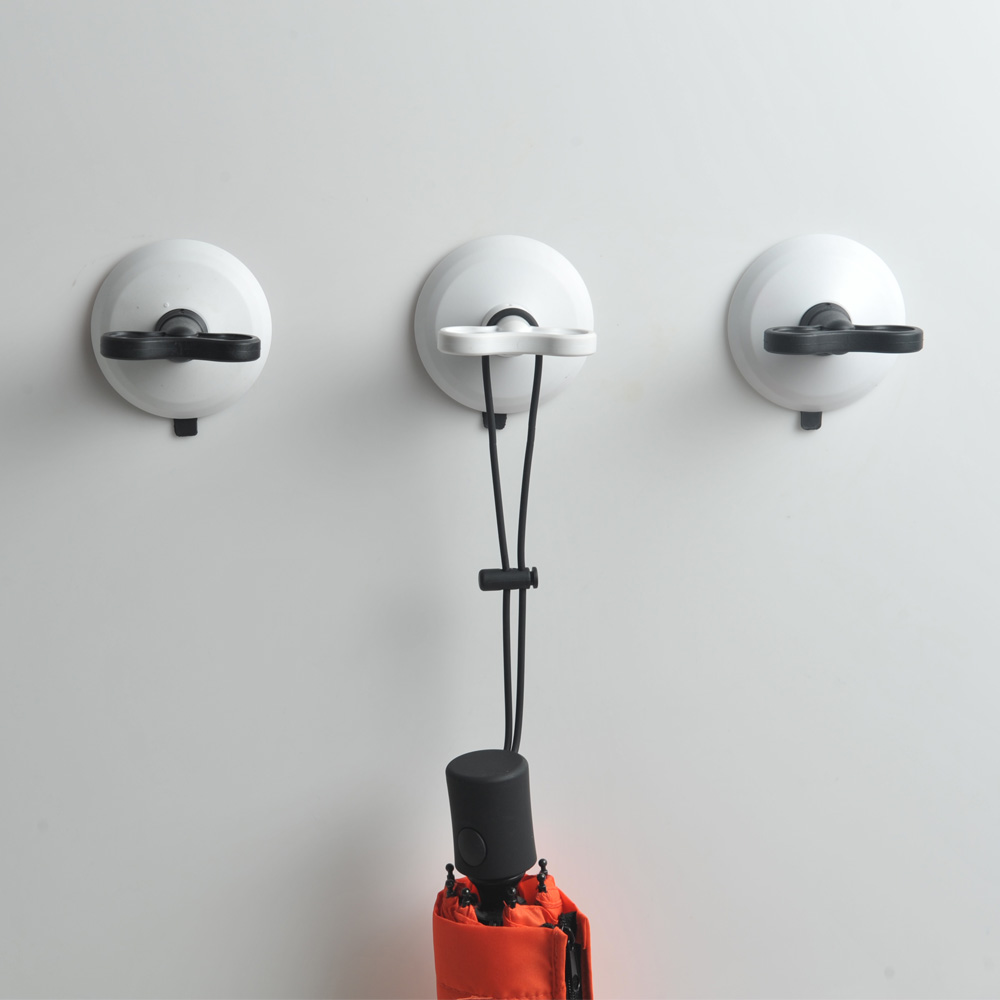 dipper|無痕強力吸盤壁掛(大)-白