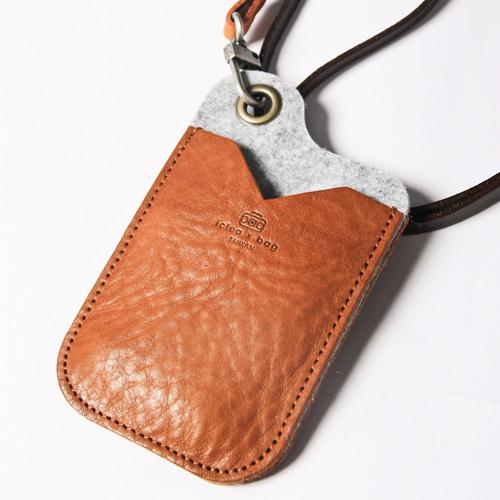 icleaXbag|手作皮革證件夾(咖啡色)