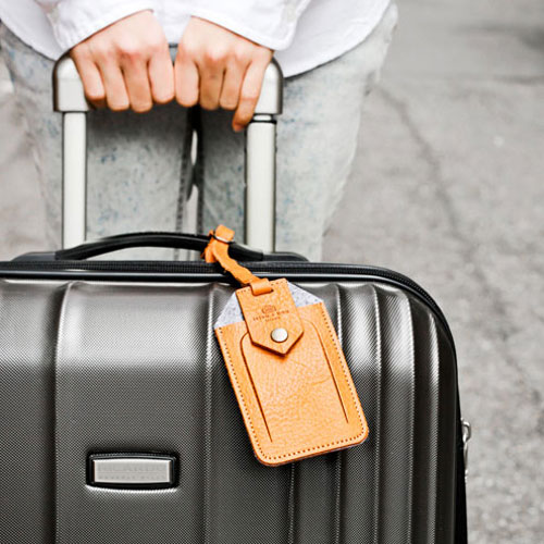 icleaXbag|進口皮革行李吊牌