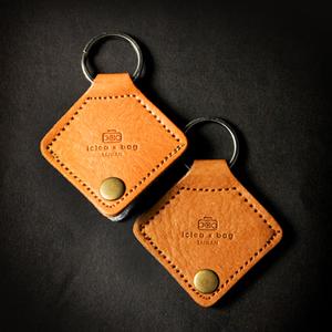 icleaXbag|進口皮革吉他pick套鑰匙圈