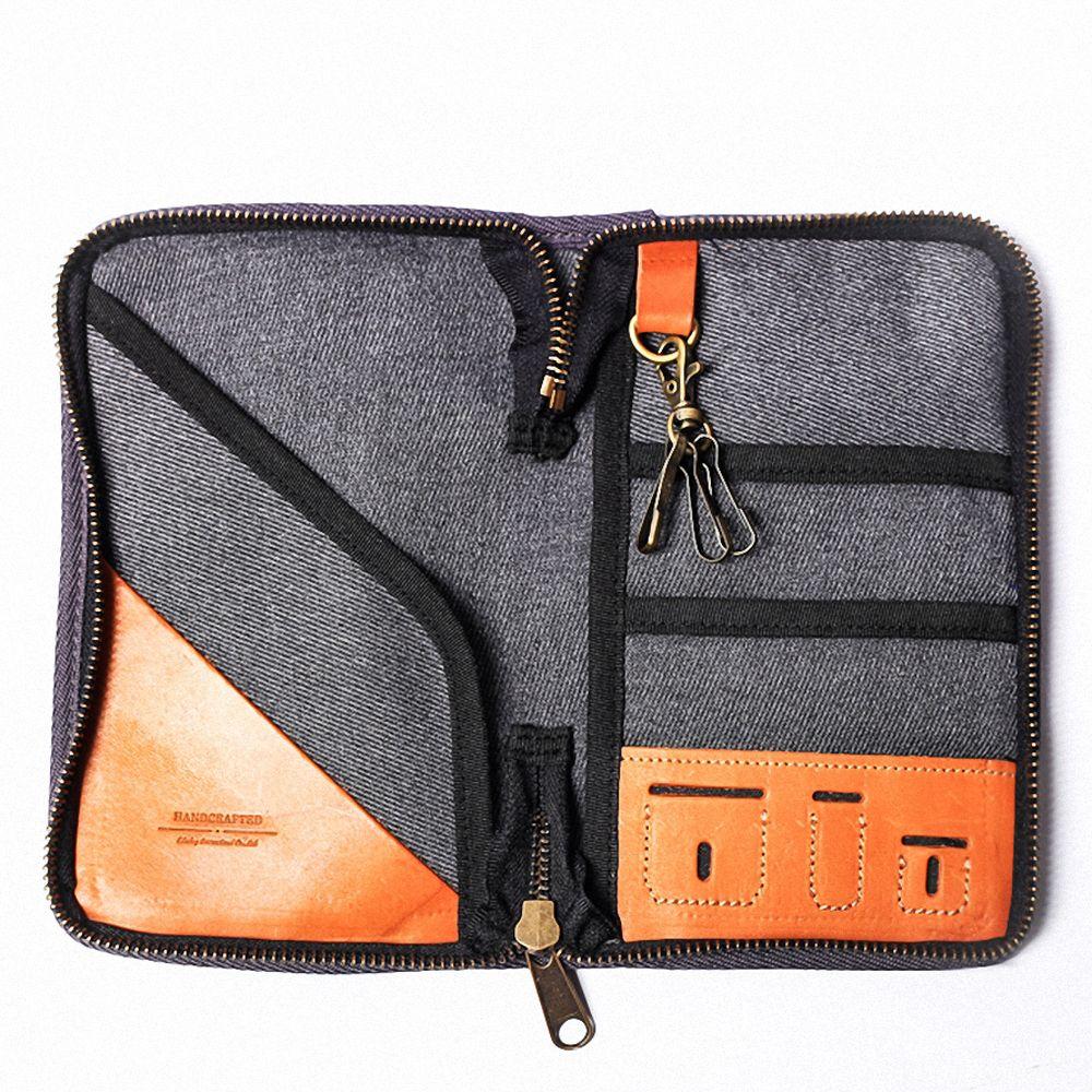 icleaXbag 真皮個性飛行護照匣