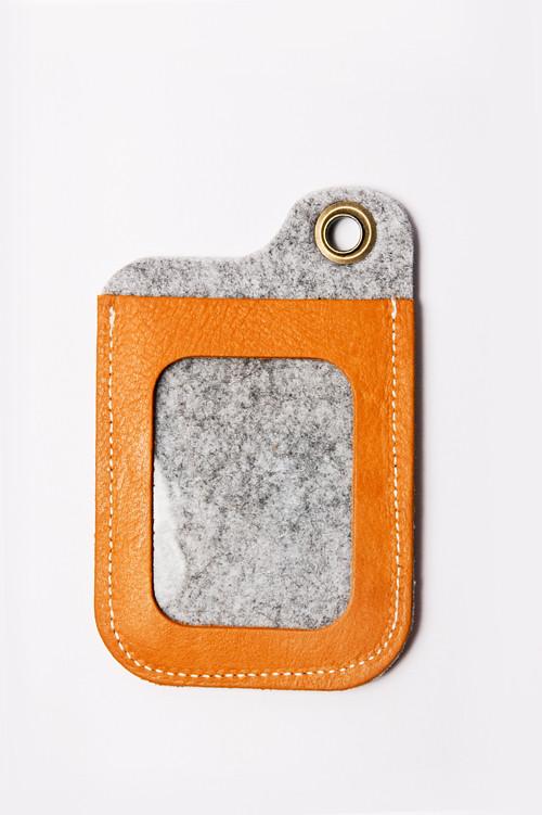 icleaXbag|手作進口真皮證件夾票卡夾
