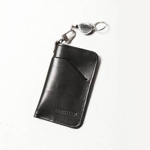 icleaXbag|真皮伸縮雙層票卡夾卡套
