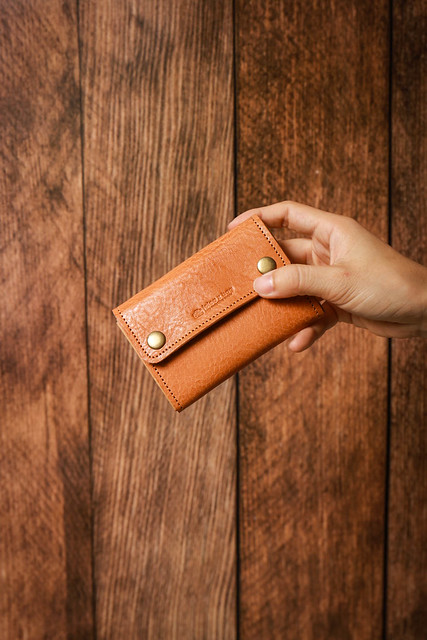 icleaXbag 真皮零錢短夾錢包