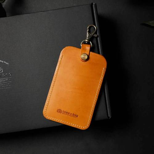 icleaXbag|雙面感應票卡匣證件套