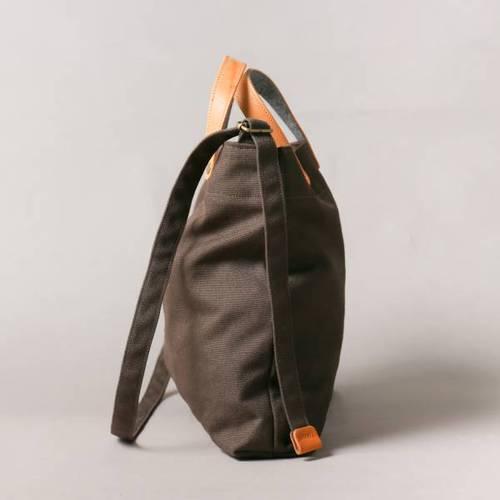 icleaXbag 經典新M號帆布手提側背包