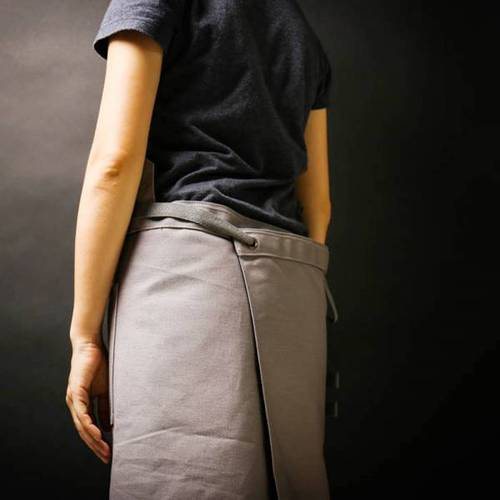 icleaXbag 變形兩用穿工作圍裙 (油蠟皮帶式)