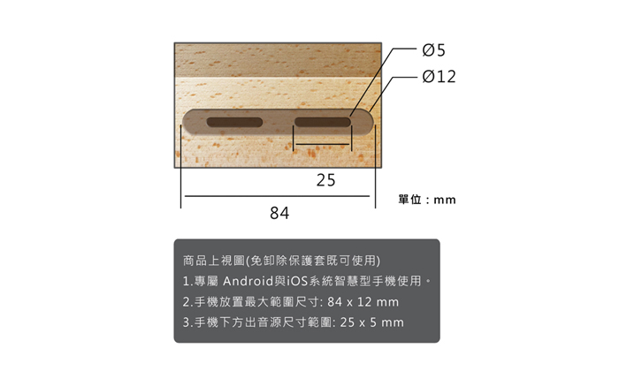 GeckoDesign|ZIMMA 山毛櫸擴音器for iPhone 系列/Android部分機型(原木/珍珠白)