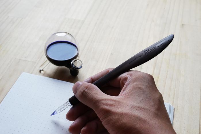 GeckoDesign |羽翼蘸水筆 x 墨器墨水瓶 手工製文具組