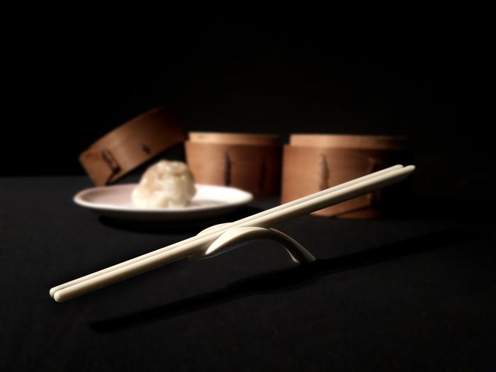 GeckoDesign|Balanced 平衡箸筷架組 (摩登黑)