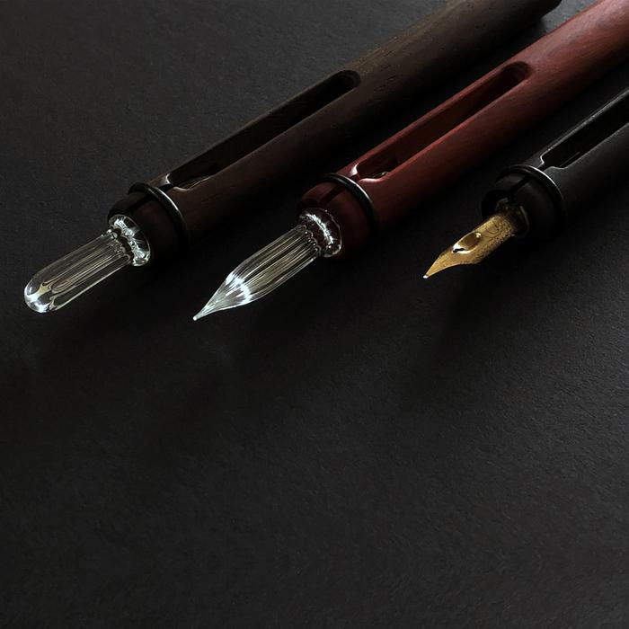 GeckoDesign |和諧之筆 (黑檀)