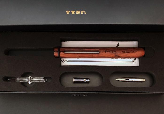 (複製)【集購】GeckoDesign |羽翼蘸水筆 x 墨器 手工文具組