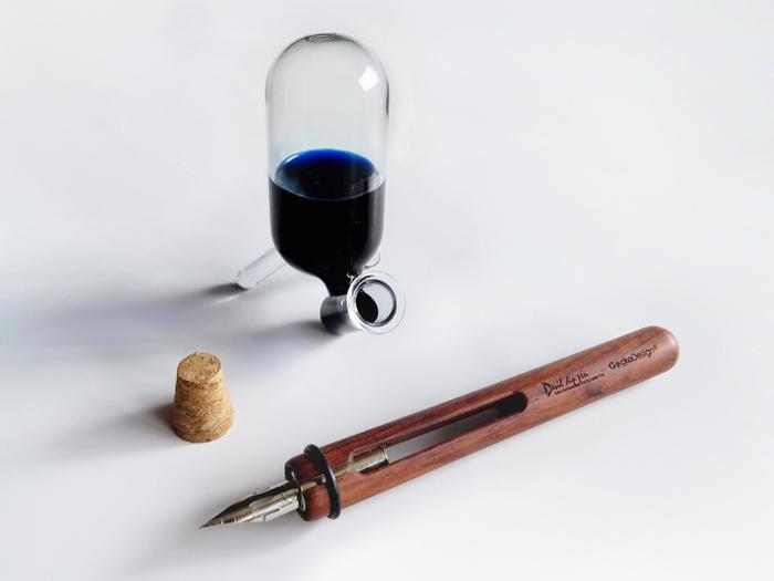【集購】GeckoDesign |和諧之筆 x 默契墨水瓶 手工文具組
