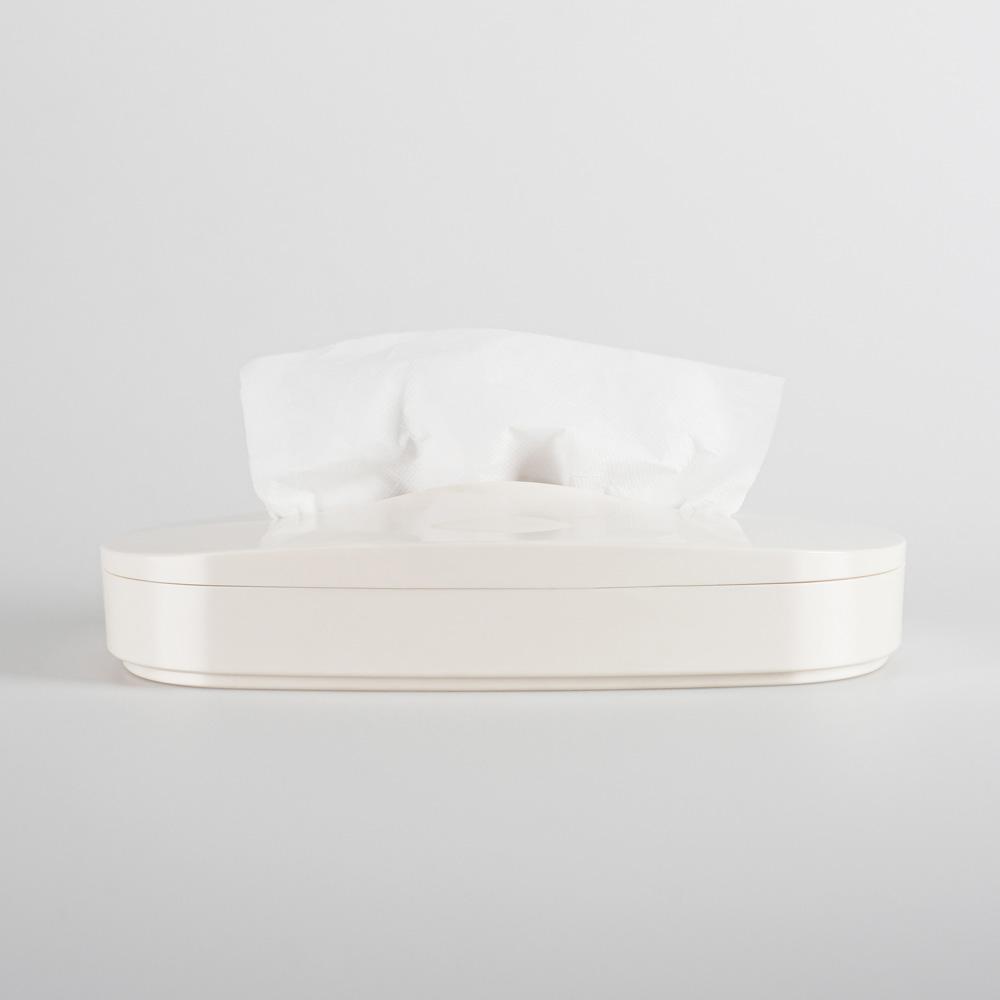GeckoDesign 伸縮面紙盒(香草白)