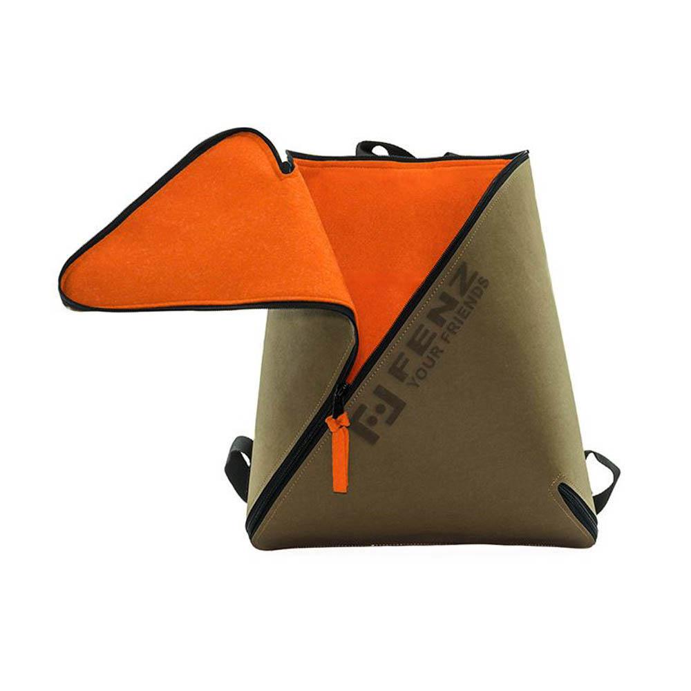 FENZ 超輕防潑濺 一體成形後背包 (麂皮淺棕色)