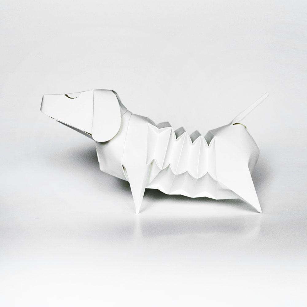 GeckoDesign|百變臘腸狗存錢筒系列 (DlY著色版)