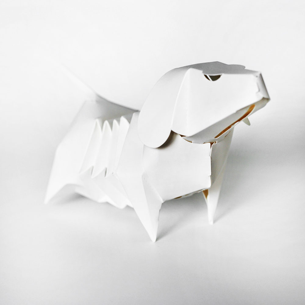 GeckoDesign 百變臘腸狗存錢筒系列 (超人)
